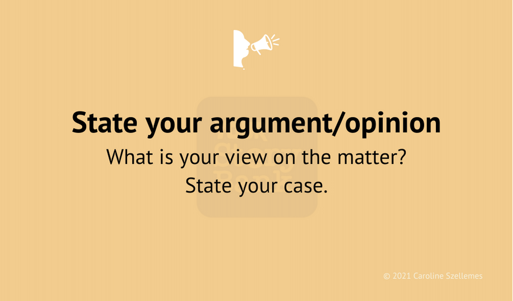 view opinion